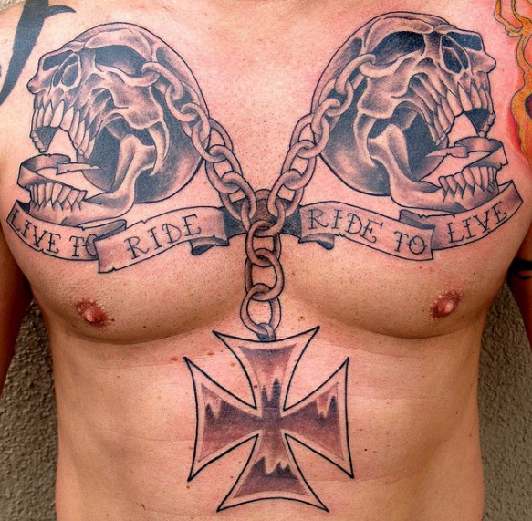Hardcore See The 10 Coolest Tattoo Ideas For Bikers Biker Way Of Life